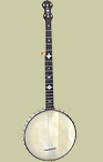 Fairbanks & Cole Fretless 5-String Banjo